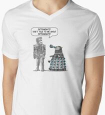 Dalek Adams 2 Mens V-Neck T-Shirt