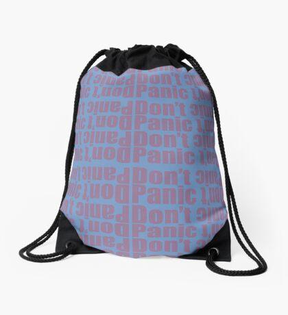 Don't Panic Drawstring Bag