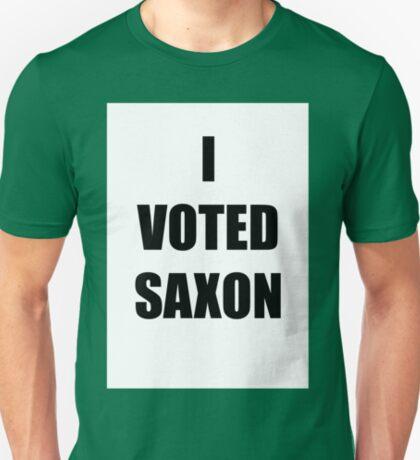 I VOTED SAXON T-Shirt