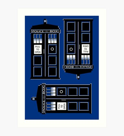 tIME bOX 3 Art Print