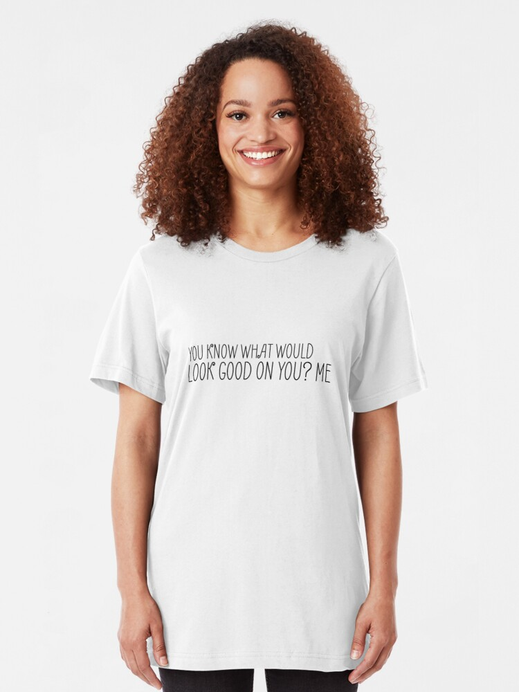 Alternative Ansicht von Lustiger sexy Sex-Spaß-Witz cooles niedliches Slim Fit T-Shirt