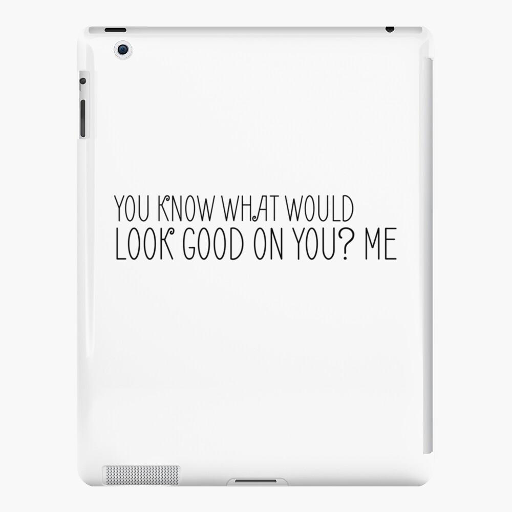 Lustiger sexy Sex-Spaß-Witz cooles niedliches iPad-Hülle & Skin