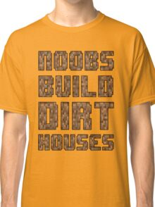 Mine craft noobs Classic T-Shirt