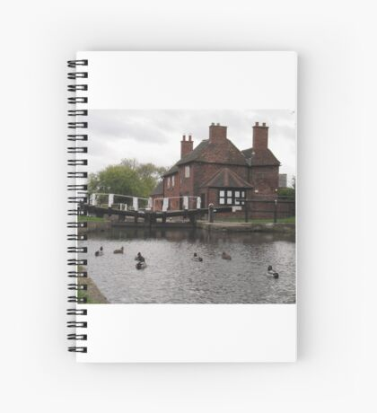 Sandiacre Lock house Spiral Notebook