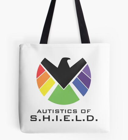 Autistics of S.H.I.E.L.D. (for light backgrounds) Tote Bag