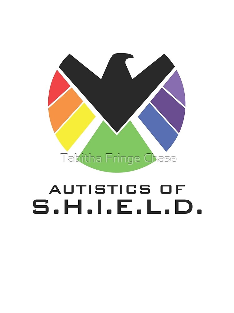 Autistics of S.H.I.E.L.D. (for light backgrounds) by Tabitha Fringe Chase
