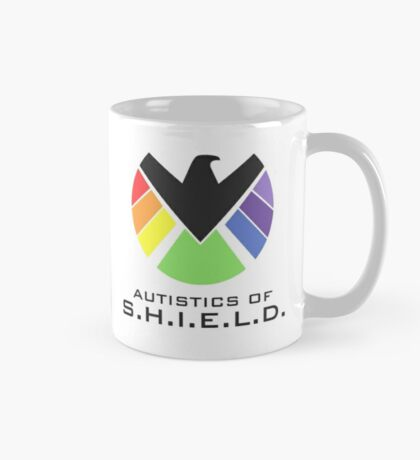 Autistics of S.H.I.E.L.D. (for light backgrounds) Mug