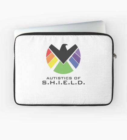 Autistics of S.H.I.E.L.D. (for light backgrounds) Laptop Sleeve