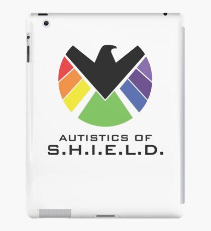Autistics of S.H.I.E.L.D. (for light backgrounds) iPad Case/Skin