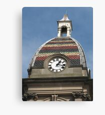 Colourful Capital Canvas Print