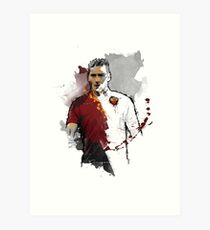 Francesco Totti Painting Art Print