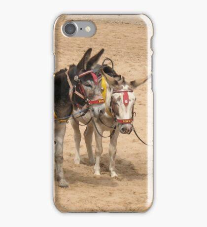 British Beach Donkeys iPhone Case/Skin