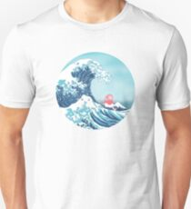 Ponyo and the great wawe (best version) T-Shirt