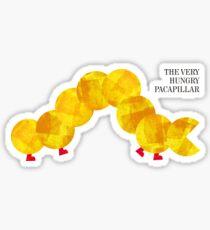 The Very Hungry Pacapillar Sticker