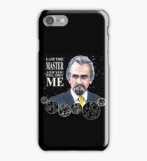 The Master (Roger Delgado) iPhone Case/Skin