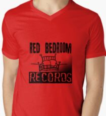 Red Bedroom Records Men's V-Neck T-Shirt