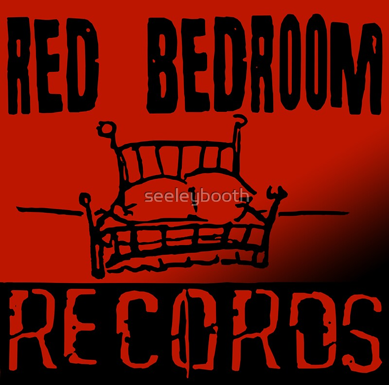 Red Bedroom Records by seeleybooth. Red Bedroom Records  Stickers by seeleybooth   Redbubble