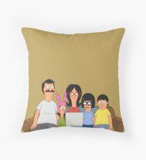 The Belchers Throw Pillow