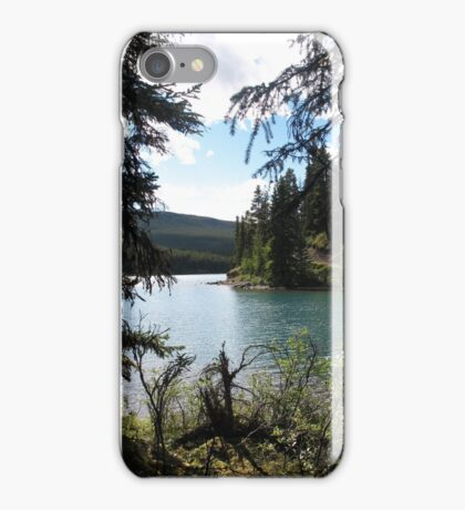 Maligne View iPhone Case/Skin