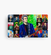 The Doctor of the Universe - The Silver Punk Canvas Print