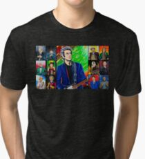 The Doctor of the Universe - The Silver Punk Tri-blend T-Shirt