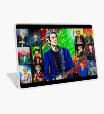 The Doctor of the Universe - The Silver Punk Laptop Skin