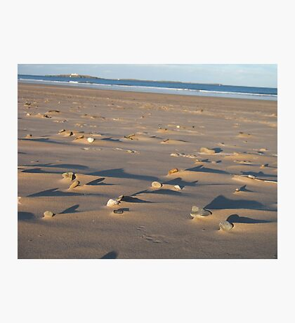 Lumps and Bumps (light and shade) Photographic Print