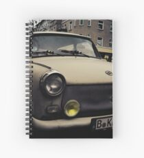 trabant, east berlin Spiral Notebook