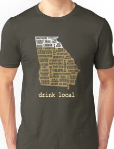 Drink Local - Georgia Beer Shirt Unisex T-Shirt