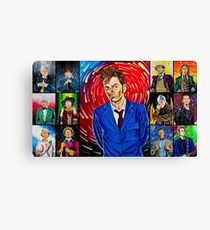 The Doctor of the Universe - The Hero Canvas Print