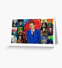 The Doctor of the Universe - The Hero Greeting Card
