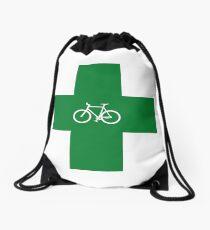 Bike Pharmacy Drawstring Bag