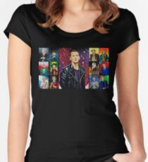 The Doctor of the Universe - The Survivor Women's Fitted Scoop T-Shirt