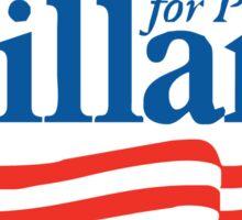 Hillary 2016 Bumper Sticker Sticker