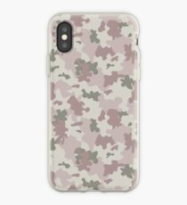 Light Pink Camouflage iPhone Case