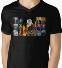 The Doctor of the Universe - The Warrior Men's V-Neck T-Shirt