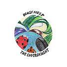 Bugs help the environment by Deepthi  Horagoda