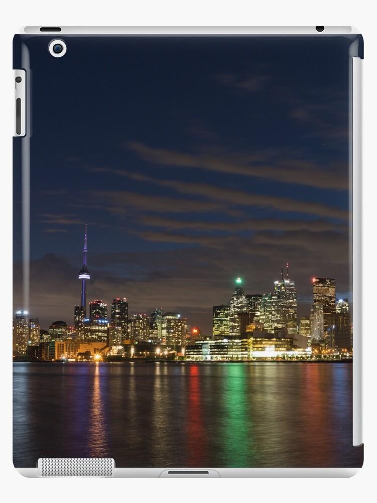 Toronto's Dazzling Skyline Across the Lake by Georgia Mizuleva