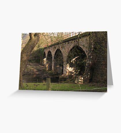 Rowsley Bridge Greeting Card