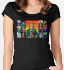 The Doctor of the Universe - The Romantic Women's Fitted Scoop T-Shirt