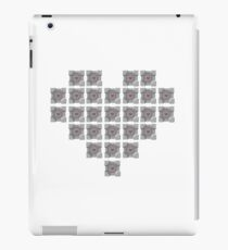 The cube is love, the cube is life -white- iPad Case/Skin