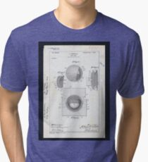 Golf Ball Patent Tri-blend T-Shirt