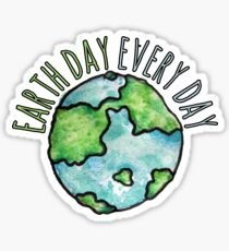 Pegatina Earth Day Everyday
