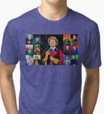 The Doctor of the Universe - The Dark Clown Tri-blend T-Shirt