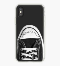 Vinilo o funda para iPhone Kurt Cobain Endorsement Converse Sneaker
