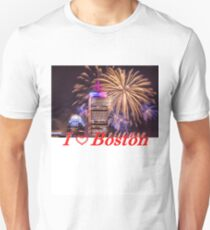 Happy Fourth of July from Boston, MA Unisex T-Shirt