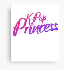K-pop princess Canvas Print