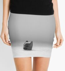 The Cowl Mini Skirt