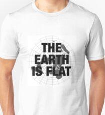Flat earth, plane truth, reality T-Shirt