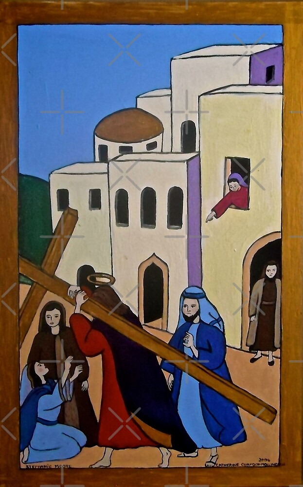 Carrying the Cross by Shulie1